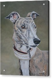 Lizzy Acrylic Print by Charlotte Yealey