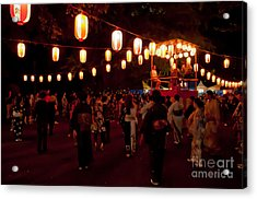 Local Festival Acrylic Print by Andy Smy