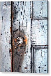 Locked Acrylic Print by Leyla Munteanu