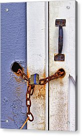 Locked Out Acrylic Print by Evelina Kremsdorf