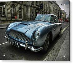 London 043 Acrylic Print by Lance Vaughn