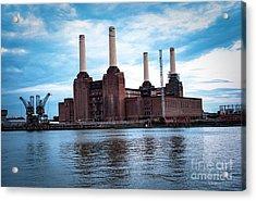 London  Acrylic Print by Cyril Jayant