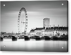 London Eye Acrylic Print by Ivo Kerssemakers