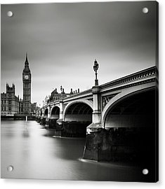 London Westminster Acrylic Print by Nina Papiorek