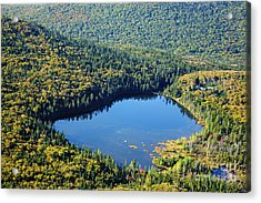 Lonesome Lake - White Mountains New Hampshire Usa Acrylic Print by Erin Paul Donovan