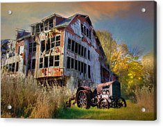 Long Forgotten Acrylic Print by Lori Deiter