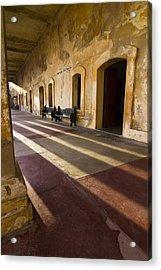 Long Shadows In San Cristobal Acrylic Print by Sven Brogren