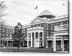 Longwood University Ruffner Hall Acrylic Print by University Icons