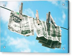 Look How Much A Dollar Buys Acrylic Print by Sharon Mau