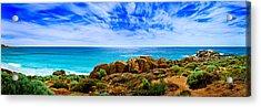 Look To The Horizon Acrylic Print by Az Jackson