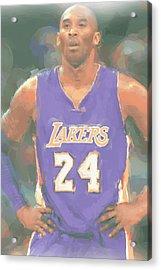 Los Angeles Lakers Kobe Bryant 2 Acrylic Print by Joe Hamilton