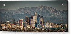 Los Angeles Skyline Acrylic Print by Neil Kremer