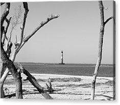 Lost At Sea...morris Island Lighthouse Acrylic Print by Elena Tudor