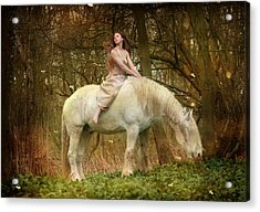 Lost Elves 1 Acrylic Print by Dorota Kudyba