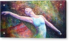 Lost In Dance  Acrylic Print by David  Maynard