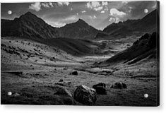 Lost In Thought. French Pyrenees Acrylic Print by Robert Brown