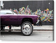 Lost In Urban America - Boys In The Hood And The Ride -tenderloin District -san Francisco -5d19356 Acrylic Print by Wingsdomain Art and Photography