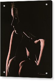 Lost Acrylic Print by Richard Young