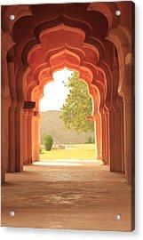Lotus Mahal Acrylic Print by Jon Anderson