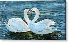 Love Forever Acrylic Print by Marisa Gabetta