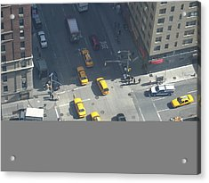Love On A Street Corner Acrylic Print by See Me Beautiful Photography