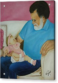 Love  Passed On Through The Years Acrylic Print by Joni McPherson