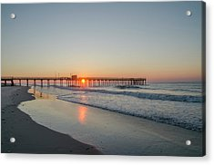 Lovely Morning In Avalon Acrylic Print by Bill Cannon