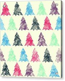 Lovely Pattern II Acrylic Print by Amir Faysal