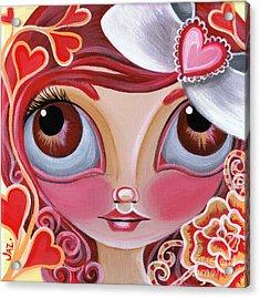 Lovey Dovey Acrylic Print by Jaz Higgins