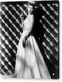 Lucille Ball, Ca. 1950s Acrylic Print by Everett