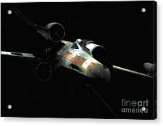 Luke's Original X-wing Acrylic Print by Micah May