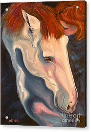 Lullaby Acrylic Print by Susan A Becker