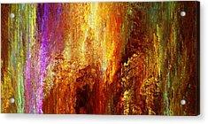 Luminous - Abstract Art Acrylic Print by Jaison Cianelli