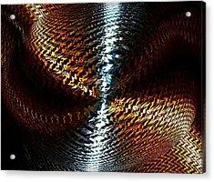 Luminous Energy 10 Acrylic Print by Will Borden