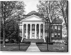 Lynchburg College Hopwood Hall Acrylic Print by University Icons