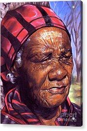 Ma Dea Acrylic Print by Curtis James