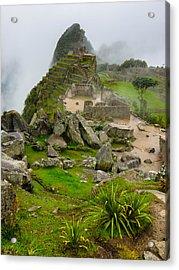 Machu Picchu Peru Acrylic Print by Andre Distel
