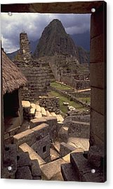 Acrylic Print featuring the photograph Machu Picchu by Travel Pics