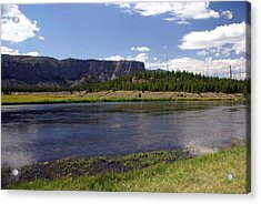 Madison River Valley Acrylic Print by Marty Koch