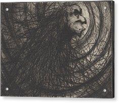 Madness Acrylic Print by Erik Paul
