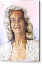 Madre Acrylic Print by Reggie Duffie