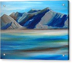 Magic Mountains Acrylic Print by Ramneek Narang