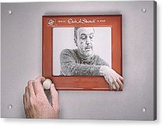 Magic Screen Duet Acrylic Print by Scott Norris