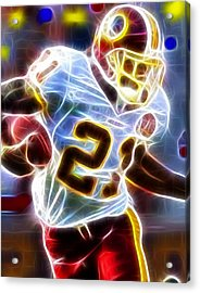 Magical Sean Taylor Acrylic Print by Paul Van Scott