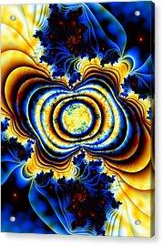 Magnetic Marvel Acrylic Print by Lauren Goia