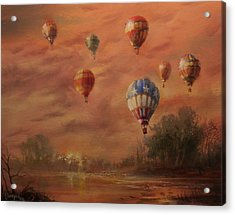 Magnificent Seven Acrylic Print by Tom Shropshire