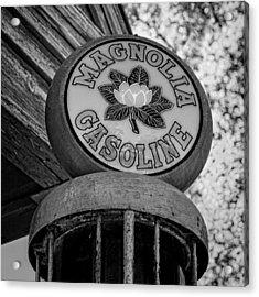 Magnolia Gasoline 3 Acrylic Print by Stephen Stookey