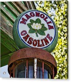 Magnolia Gasoline Acrylic Print by Stephen Stookey