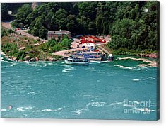 Maid Of The Mist Acrylic Print by Kathleen Struckle