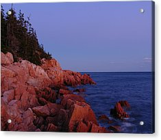 New England Acrylic Print featuring the photograph Maine Acadia Np  by Juergen Roth